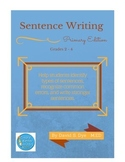 Sentence Writing: Primary