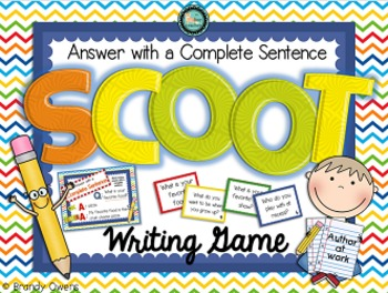 Sentence Writing SCOOT Games Bundle