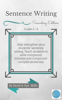 Sentence Writing: Secondary
