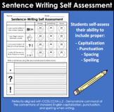 Sentence Writing Self-Assessment (Primary Grades)