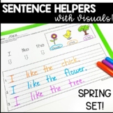 SPRING WRITING SENTENCES