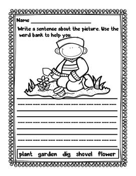 Sentence Writing - Spring