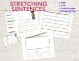 Sentence Writing Stretching Pack - Get Kids Stretching Tho