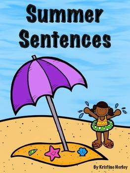 Sentence Writing - Summer
