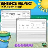 Sentence Writing/ Summer