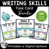 Writing Better Sentences Task Card Bundle