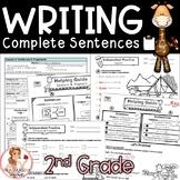 Sentence Writing Unit - Lesson Plans, Activities, Keys