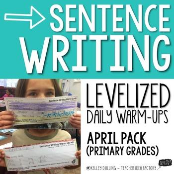 Sentence Writing Warm-Ups (April)