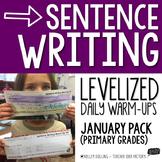 Sentence Writing Warm-Ups (January)