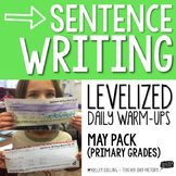Sentence Writing Warm-Ups (May)