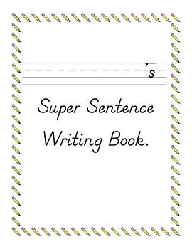 Sentence Writing Work Book