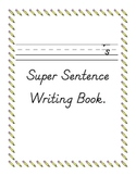 Sentence Writing Work Book