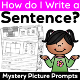 Sentence Writing with Picture Writing Prompts
