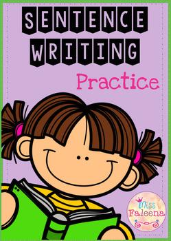 Sentence Writing Set I (copy the correct sentence)