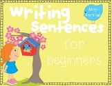 Sentence Writing for Beginners~ May