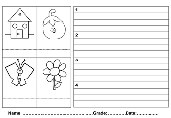 Sentence Writing for grades 1to3
