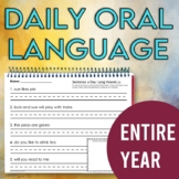 Daily Oral Language: One Year of Daily Sentence Writing