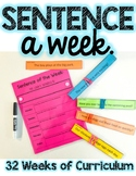 Sentence a Week Morning Meeting Activity.