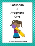 Sentence and Fragment Sort