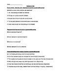 Sentence and Grammar Test