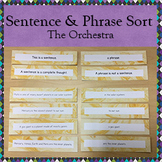Sentence and Phrase Sort (Orchestra)