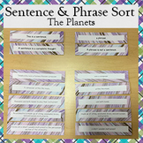 Sentence and Phrase Sort (Planets)