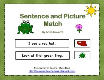 Sentence and Picture Match