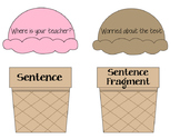 Sentence and Sentence Fragment Sort