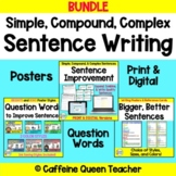 Sentence Writing Improvement BUNDLE for Google Distance Learning