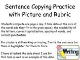 Sentence copying