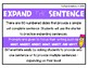 Sentence of the Day {Expand, Combine, and Create, 2.L.1f}