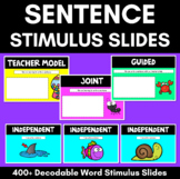 Sentence of the Day Templates & Stimulus Slides
