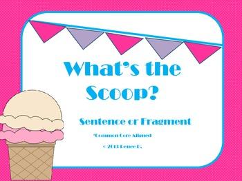 Sentence or Fragment