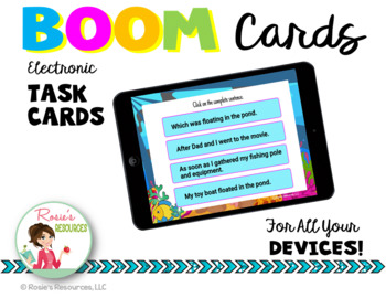 Sentence or Fragment Boom Cards