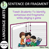 Complete Sentences Game