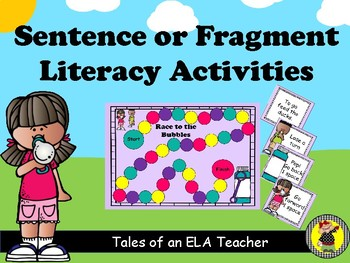 Sentence or Fragment Center Activities