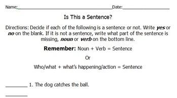 Sentence or Not?