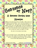 Sentence or Not? A Sentence Sorting Station