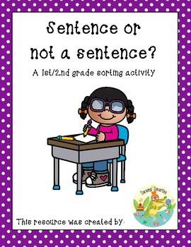 Sentence or Not a Sentence?