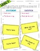 """""""Statement or Question?"""" – Leveled Punctuation and Reading Game"""