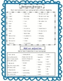 Sentence starters & add an adjective