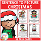 Sentence to Picture Match Task Cards Bundle 1