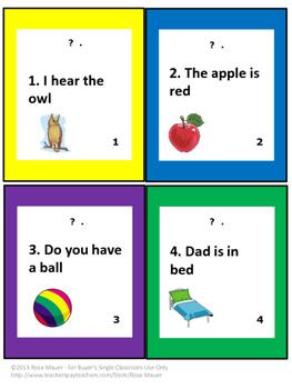 Sentences: Statement or Question