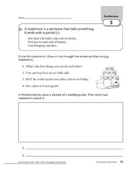 Sentences 02: Declarative Sentences