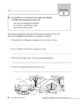 Sentences 03: Interrogative Sentences
