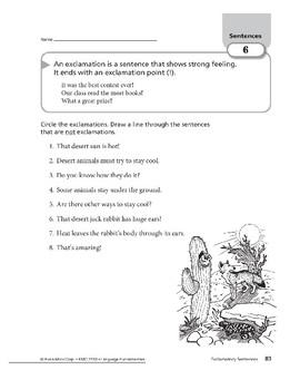 Sentences 04: Exclamatory Sentences