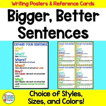 Expanding Sentences By Adding Details Poster