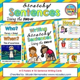 Building Sentences - Stretch a Sentence Using the 5Ws + H