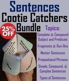Types of Sentences Activities Bundle: Simple, Compound, Fragments, Run-ons etc.