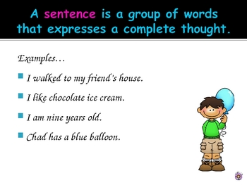 Sentences - A Review of Sentence Types and Their Punctuation